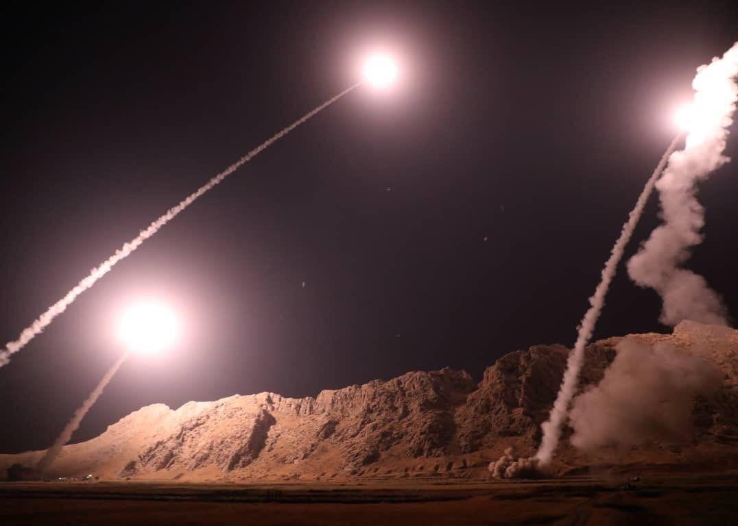 انتقام موشکی سپاه در پاسخ به حادثه اهواز/ موشک ها از نوع ذوالفقار و قیام بودند