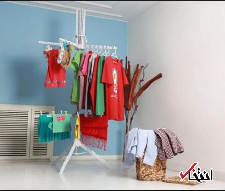 چگونه لباس ها را در خانه خشک کنم؟
