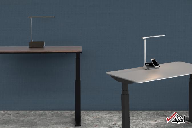 ارگونومیک ترین میز هوشمند سال معرفی شد / طراحی مناسب / قابلیت تنظیم ارتفاع / دارای چراغ هوشمند