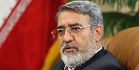 وزیر کشور: پیگیر آزادی دیگر مرزبانان ایرانی هستیم/ آمادگی داریم با هماهنگی پاکستان، در خاک این کشور، علیه اشرار عملیات انجام دهیم