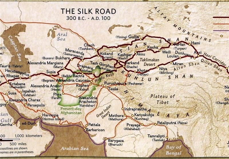 عبور مسیر ۷۲۰۰ کیلومتریِ جایگزین کانال سوئز از خاک ایران
