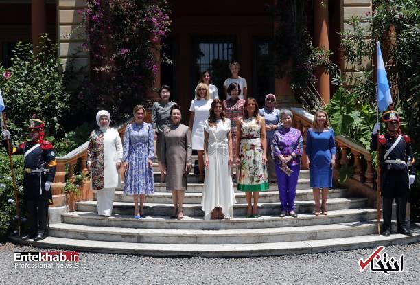 عکس/ همسران رهبران گروه ۲۰
