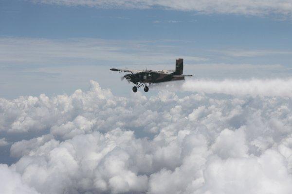 Image result for بارورسازی ابرها با پهپاد