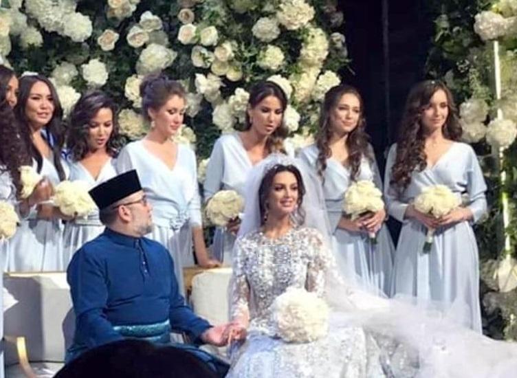ملکه زیبایی روس مسلمان شد و با پادشاه مالزی ازدواج کرد +عکس