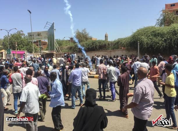 عکس/ معترضان سودانی به مقر فرماندهی ارتش رسیدند - 2