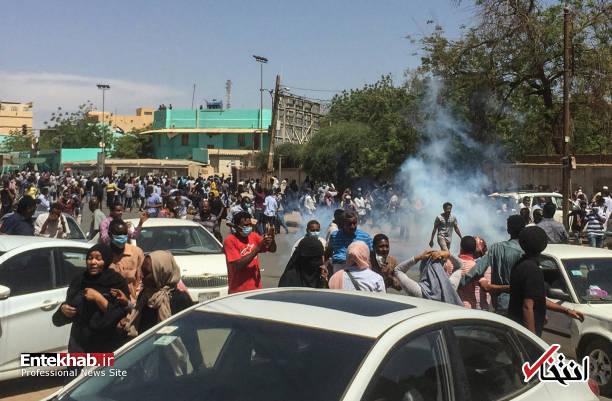 عکس/ معترضان سودانی به مقر فرماندهی ارتش رسیدند - 3