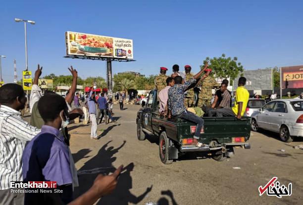 عکس/ معترضان سودانی به مقر فرماندهی ارتش رسیدند - 8