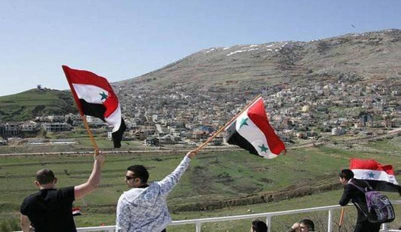 اردن: جولان بخش جدایی ناپذیر خاک سوریه است