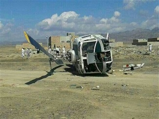 سقوط بالگرد نیروی انتظامی - 1