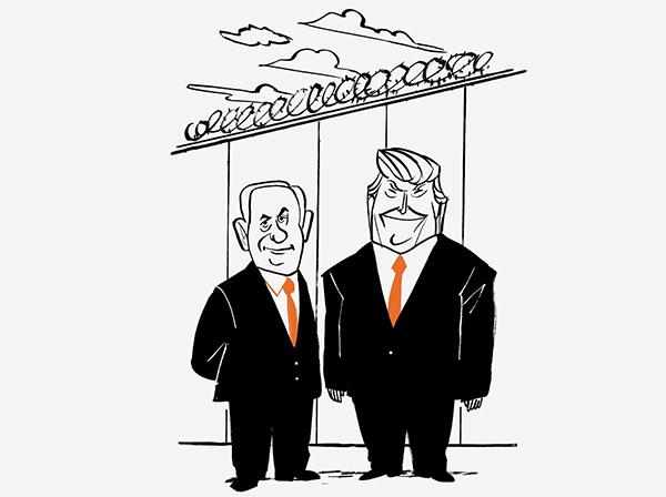 نیویورک تایمز: نتانیاهو و ترامپ هر دو عاشق دیوار هستند / نتانیاهو نشان داد که برای باقی ماندن در قدرت، به هر مکر و فریبی دست میزند / او به کمک ترامپ اسرائیل را به آنچه پدرش آرزو داشت، نزدیک تر کرده؛ یعنی کنار گذاشتن راهحل دو کشوری و الحاق هر دو سوی کرانه باختری به اسرائیل