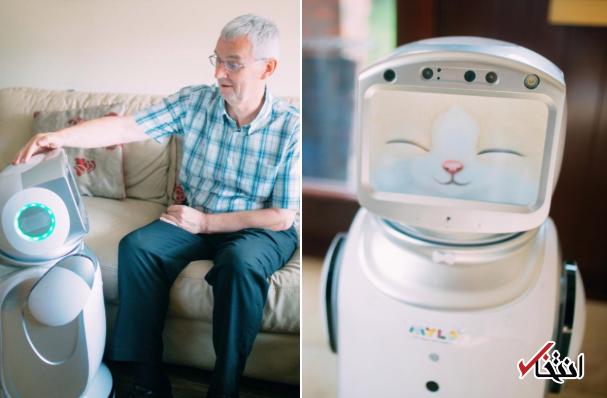 با جدیدترین روبات پرستار جهان آشنا شوید / از کمک به مبتلایان آلزایمر تا حمایت عاطفی از معلولان - 0
