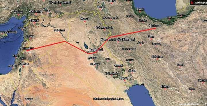 بررسی های فنی ورایزنی ها برای پروژه احداث اتوبان میان ایران و سوریه