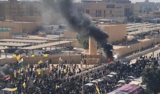 نتیجه تصویری برای حمله به سفارت آمریکا