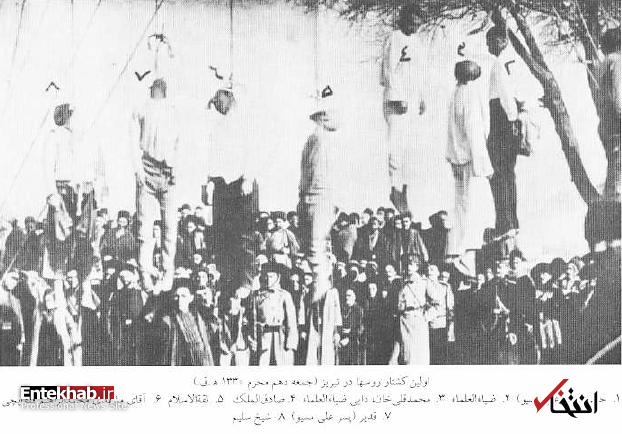 عاشورای تبریز در ۱۰۸ سال پیش به روایت کسروی؛ روزی که روسها هشت تن از مشروطهخواهان تبریز را به دار کشیدند