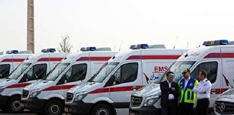 مراجعه ۷۲ نفر به اورژانس در مراسم تشییع شهید سلیمانی / انتقال ۲۲ نفر به مرکز درمانی