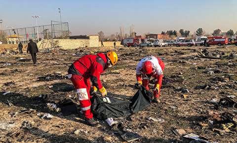 تصاویر : سقوط هواپیمای اوکراینی پس از بلند شدن از فرودگاه امام خمینی