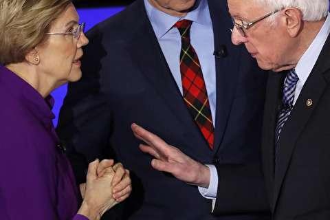 تصاویر : مناظره شش نامزد پیشتاز حزب دمکرات آمریکا