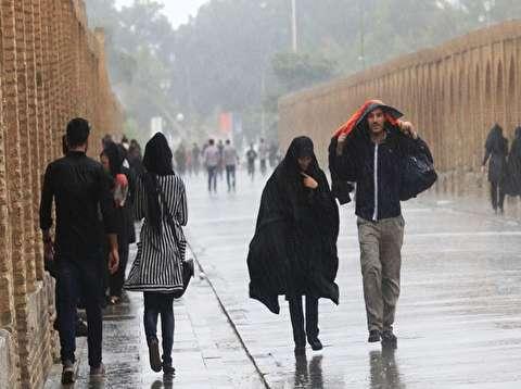 هواشناسی: بارش باران و برف تا روزهای پایانی هفته جاری ادامه خواهد داشت