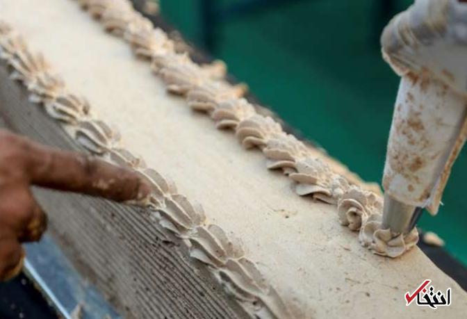 رکورد طولانی ترین کیک جهان توسط هندی ها شکسته شد / همکاری 1500 قناد برای تهیه کیک 6.5 کیلومتری