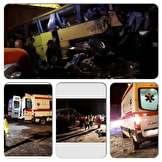 ۱۶ کشته و مصدوم بر اثر واژگونی اتوبوس در سلفچگان