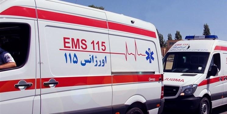 کاهش زمان حضور اورژانس در تصادفات شهری و جاده ای استان مرکزی