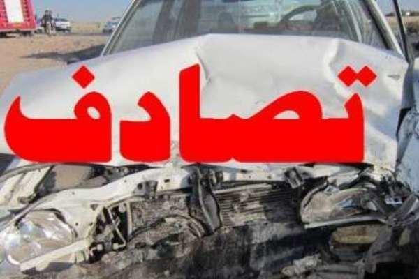 تصادف زنجیرهای ۱۸ خودرو در بزرگراه فتح