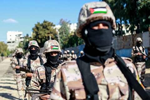 تصاویر : رژه نظامی جنبش فتح
