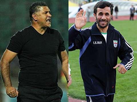 علی دایی بین دو نیمه بازی با عربستان، اجازه نداد احمدینژاد وارد رختکن شود؛ همان شب برکنار شد