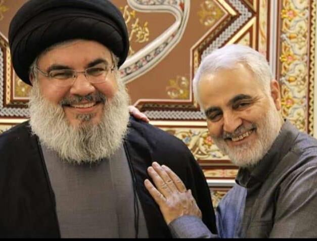 نشست فوری حزب الله و حشد الشعبی / آیا سید حسن نصرالله موقتا مأموریت سردار سلیمانی را بر عهده گرفته؟