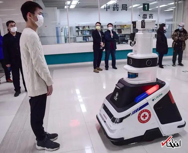 828946 568 - نگاهی به فعالیت ربات های ضدعفونی کننده در چین+تصاویر