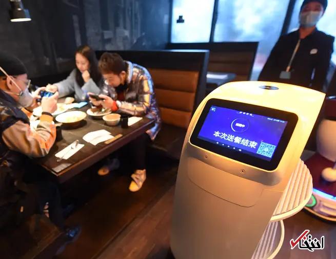828949 873 - نگاهی به فعالیت ربات های ضدعفونی کننده در چین+تصاویر