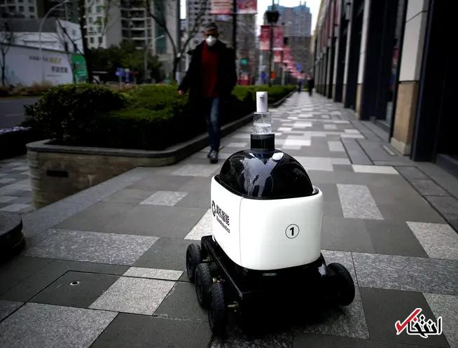 828956 897 - نگاهی به فعالیت ربات های ضدعفونی کننده در چین+تصاویر