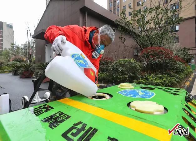 828958 173 - نگاهی به فعالیت ربات های ضدعفونی کننده در چین+تصاویر