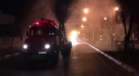 آخرین اقدامات آتشنشانی در خصوص ضدعفونی پایتخت