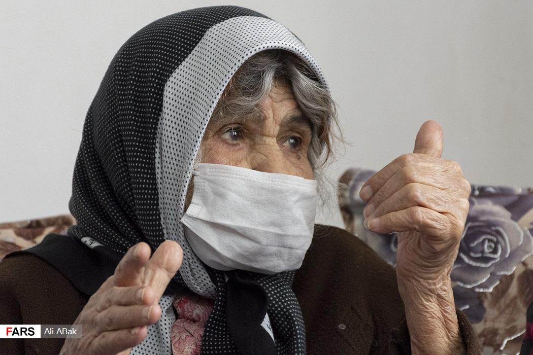 تصاویر: بهبودی مسنترین فرد مبتلا به کرونا در ایران