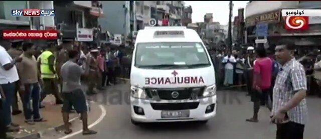 وقوع انفجارهای همزمان در سریلانکا؛ دو کلیسا و دو هتل هدف قرار گرفتند