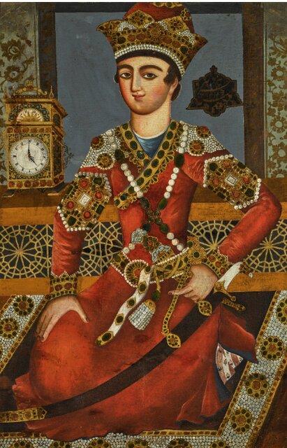 فروش ۲.۸ میلیارد تومانی فرش قاجاری در لندن