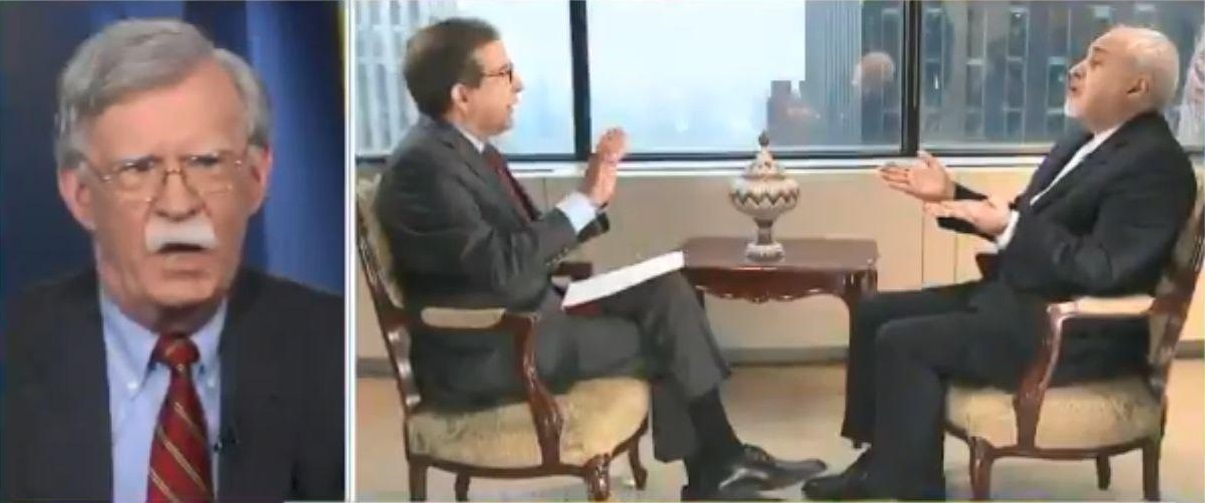واکنش بولتون به مصاحبه ظریف با فاکس نیوز: این اظهارات مضحک و پروپاگاندا بود