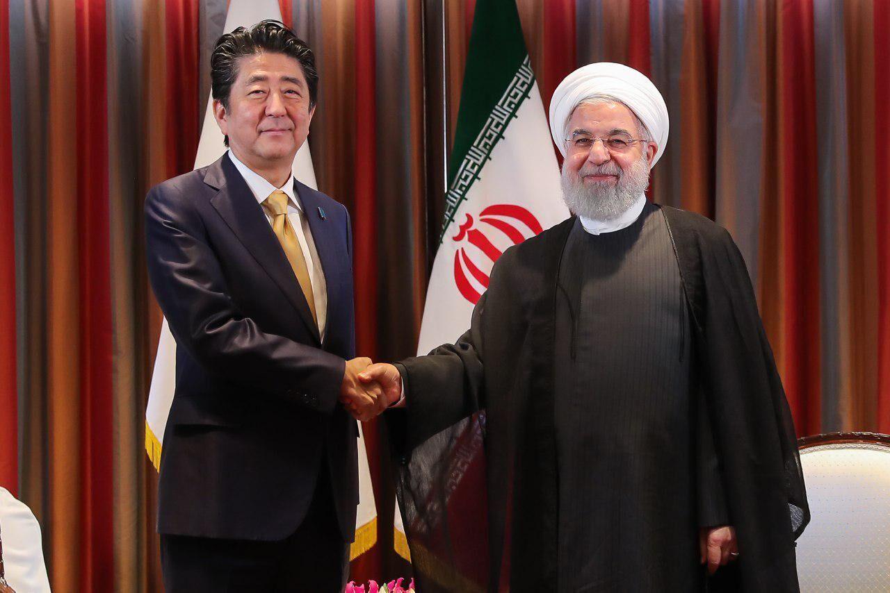 Risultati immagini per سفر شینزو ابه به ایران