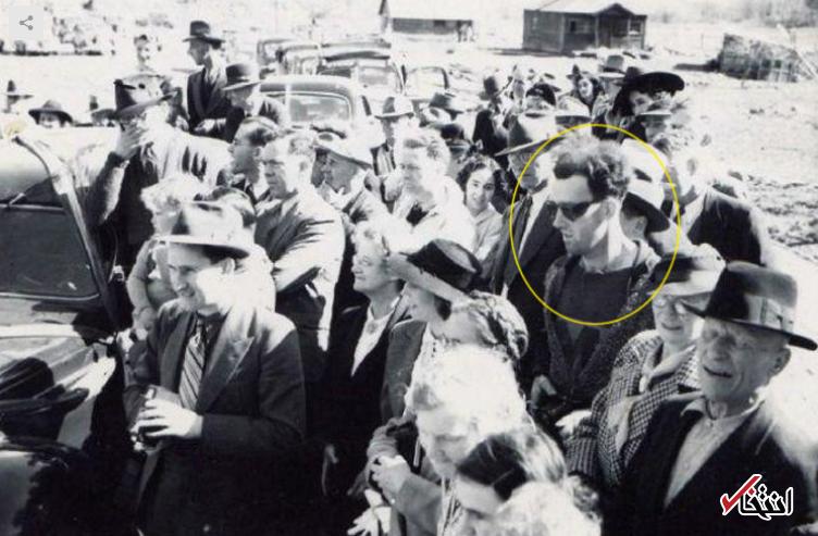 سفر در زمان حقیقت دارد؟ / عکسی از دهه 1940 با حضور یک مسافر زمان