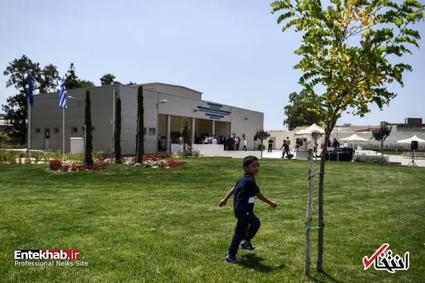 667010 876 - تصاویر : افتتاح مسجد برای اولین بار در آتن