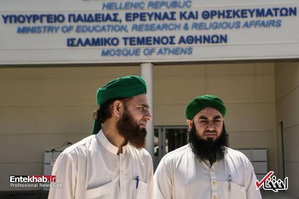 667020 197 - تصاویر : افتتاح مسجد برای اولین بار در آتن