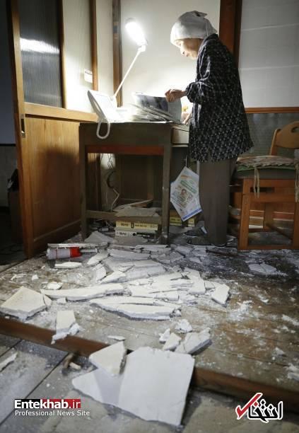 تصاویر : زلزله 6،8 ریشتری در شمال شرق ژاپن