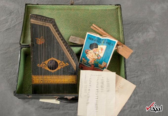 15 عکس جالب از محتویات چمدان بیماران روانی در سال 1910