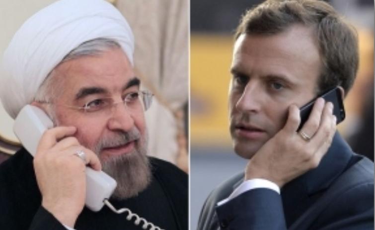 روحانی: اقدامات اخیر ایران کاملا در چارچوب برجام و برای حفظ آن است/ اتحادیه اروپا به مسوولیت های خود در برابر معاهدات بین المللی و قطعنامه سازمان ملل متحد عمل کند/ توقف کلیه تحریم ها می تواند آغازی برای یک حرکت بین ایران و 1+5 باشد / مکرون: می پذیریم که اقدامات اروپا برای جبران تحریمهای آمریکا موفق و کارآمد نبوده است؛ اما همه تلاش خود را برای جبران این موضوع و حفظ برجام بکار می گیریم