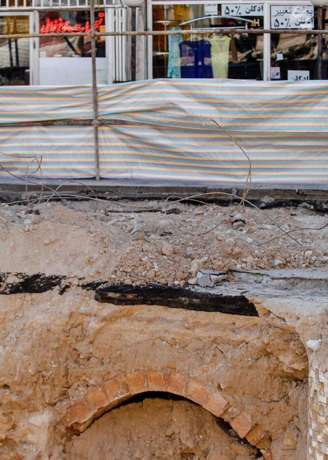 کشف یک شهر زیرزمینی در تبریز +تصاویر