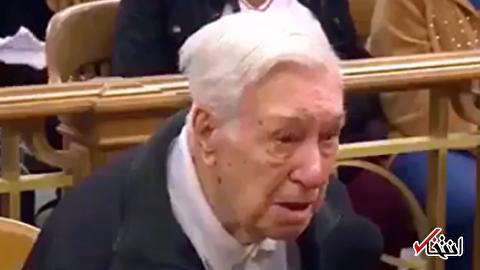 پیرمرد 96 ساله در دادگاه عفو شد / ترحم قاضی آمریکایی به فرزند معلول و مبتلا به سرطان محکوم