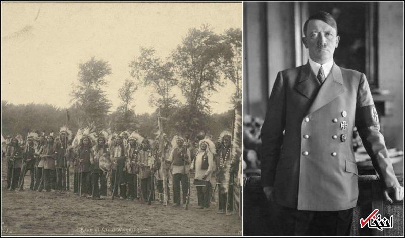 چرا هیتلر به سرخپوست ها علاقه مند بود؟