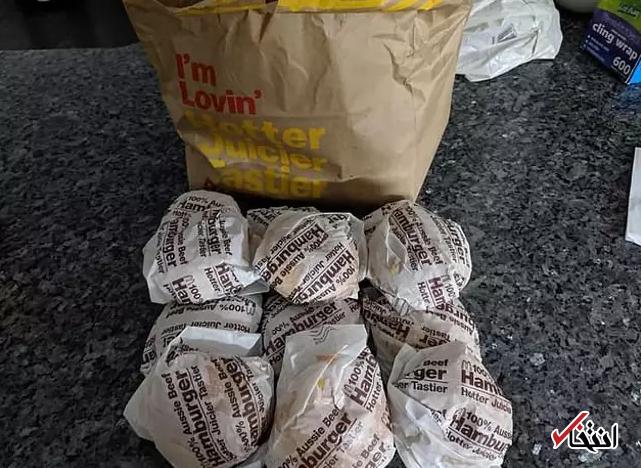 ایده جالب شاخ اینستاگرامی به ضرر رستورانهای «مک دونالد» تمام می شود؟ / استقبال کاربران از همبرگرهای 1 دلاری منجمد