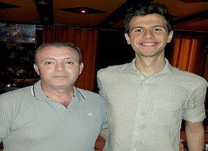 تصاویر بشار اسد و خانوادهاش در رستورانی در دمشق